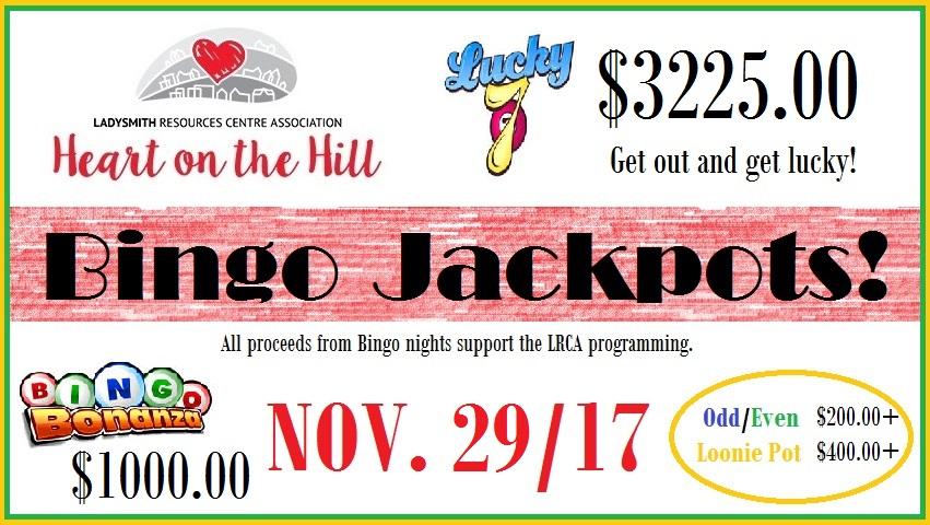 When you get lucky, so do we! #Jackpot!